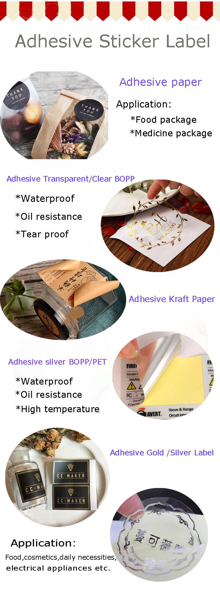 Custom Printing A4 A5 Sheet Waterproof Kiss Cut PVC Vinyl Adhesive Sticker Sheet Label