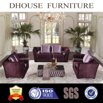 Italian Neoclical Dubai Fabric Chesterfield Sofa Sets Home Decor Furniture Al022 Set Designs Royal Arabic