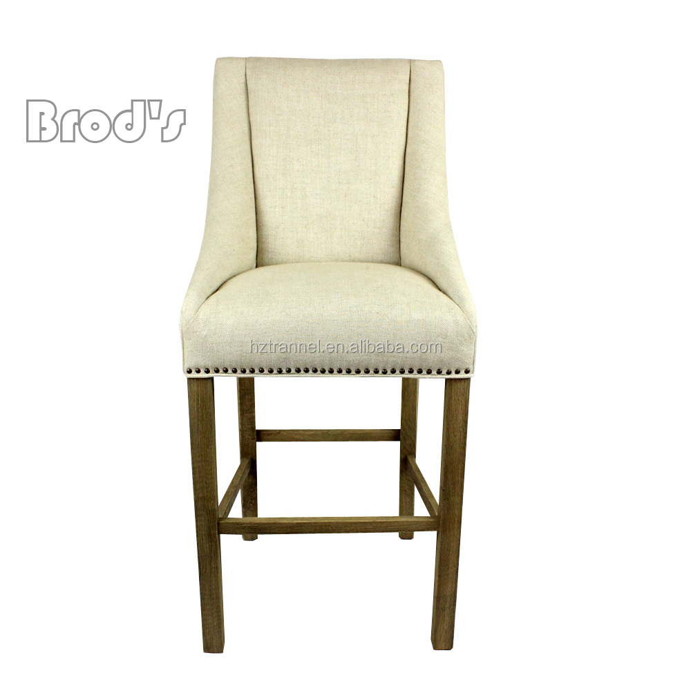 French Bistro Rattan Back Chair Wooden Carved Restaurant Dining Chair