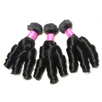 wholesale price full cuticle top selling natural look three rollers quality virgin brazilian hair