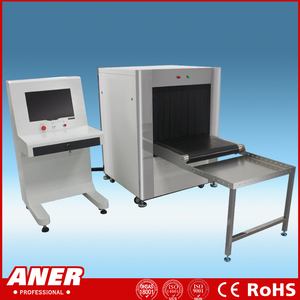 ISO9001 China Manufacturer x-ray baggage scanner, weapons drugs explosives detection systems K6550
