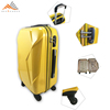 Customized ABS Plastic Cover Trolley Luggage With Tsa Lock