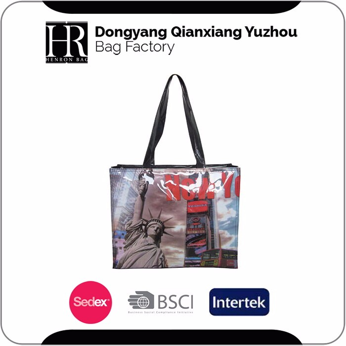 Strict Time Control Factory Make To Order Zipper Shopping Bag