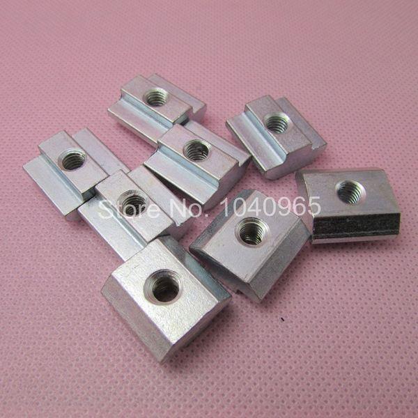 drop in sliding t slot nut block m4 for 4040 40x40 aluminum profile extruson fasten nut. Black Bedroom Furniture Sets. Home Design Ideas