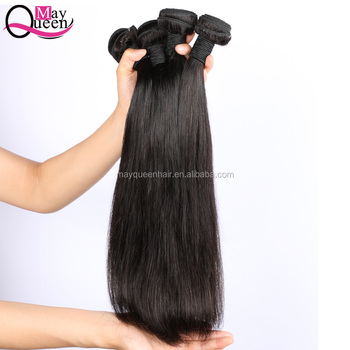Pre Plucked Virgin Hair Perless Hair Company 16 18 20 Inch Straight Human Hair Weave Bundles Remy Straight Bundles