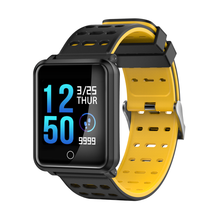 Starmax SW01 폰 <span class=keywords><strong>스마트</strong></span> 2018 Energy Smart Band Bracelet Heart Rate Watch Bluetooth 4.0