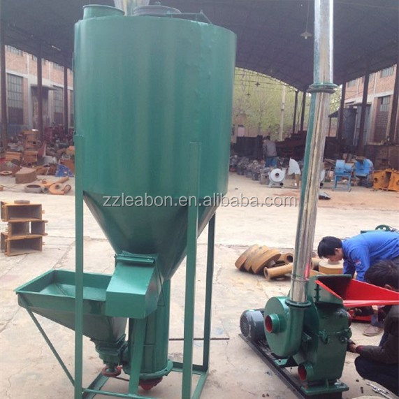 China Vertical Grain Feed Mixer for animals