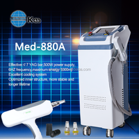 q switch nd yag tattoo removal oem laser beauty equipment