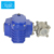 DN15-DN100 Q911F Stainless steel quick opening motor female thread motorized automatic electric actuated ball valve