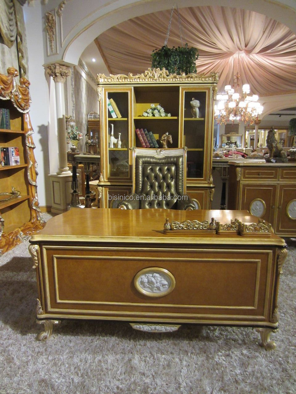 Luxury French Baroque Style Home Office Furniturepalace Style