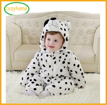 7d9df745d Christmas Season Baby Girls Boys Winter Warn Romper Animal Shape ...