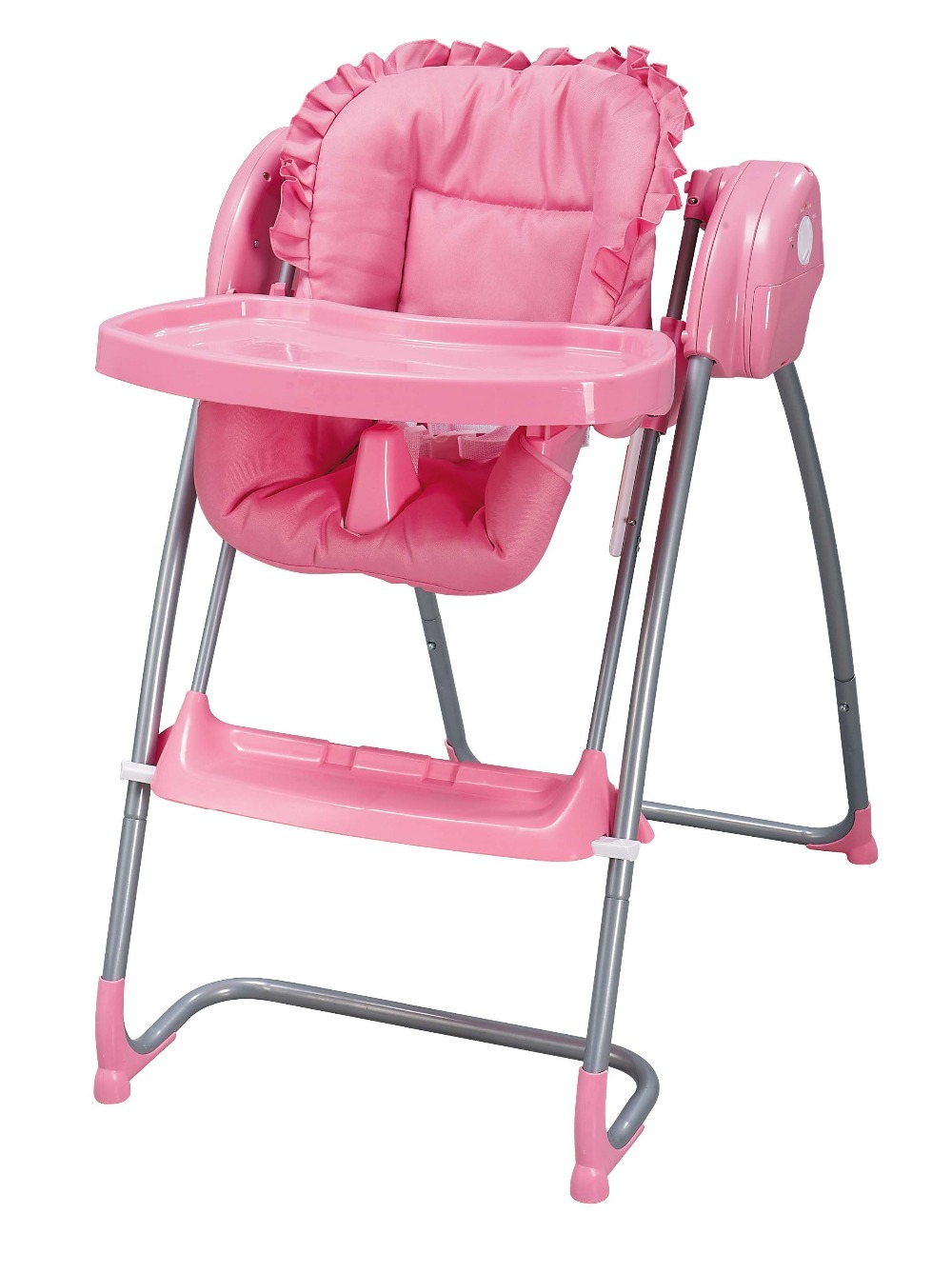 Bargain Baby Feeding Chair With Dining Table Babyyuga (Pink ...