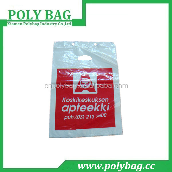 hdpe color header block bags