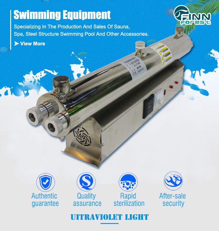 Manufacturer Price Pool Water Equipment Uv Dsinfection System