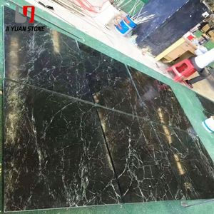 Better Price Dark Green Marble Tile Italy For Decoration
