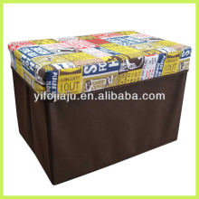 supplier foldable storage stool