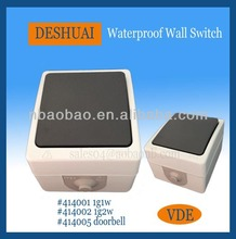 Waterproof IP54 Outdoor Electrical Wall Switch