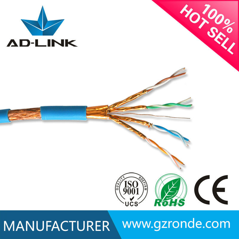High Quality Twisted Pair Installation Lan Cable 23AWG Cat 7 Ethernet Cable