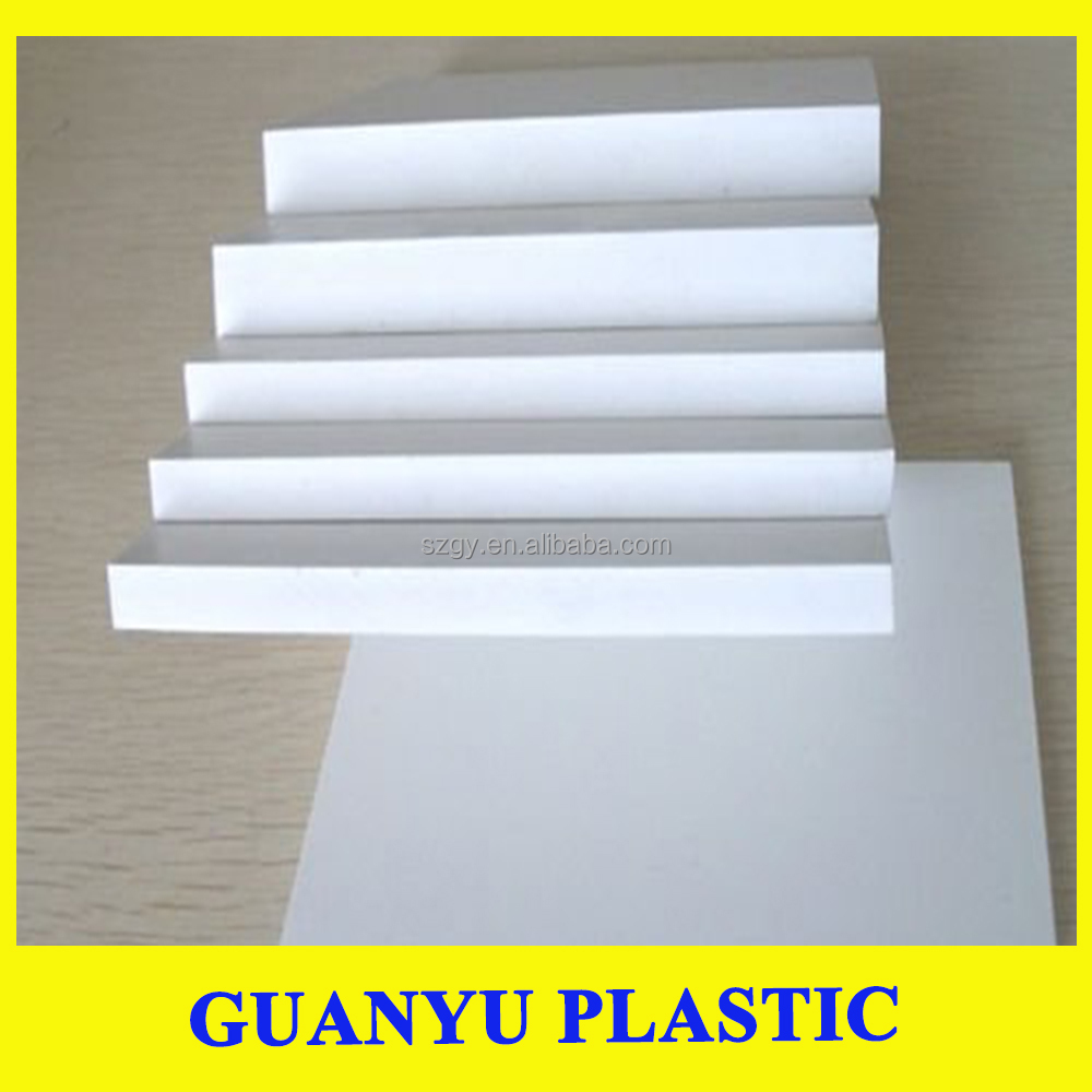 white airplane model foam board waterproof pvc barge board