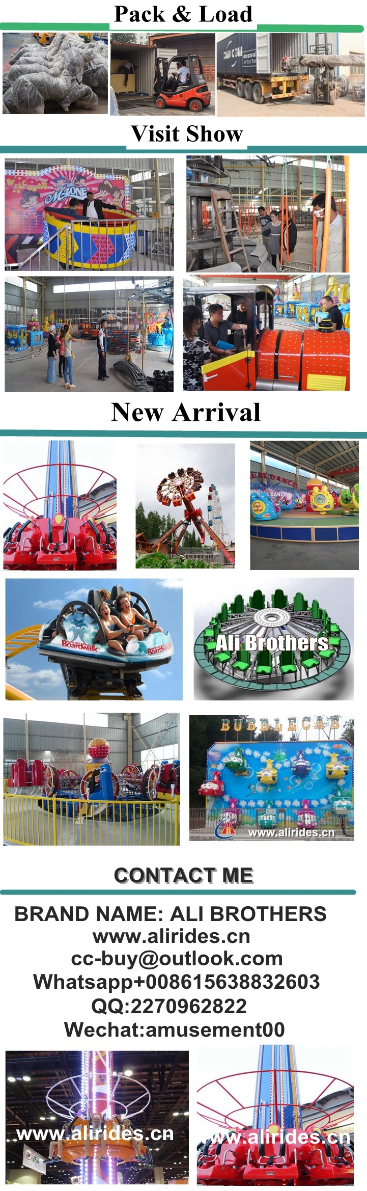 [Ali Brothers] exciting!!! Playground Amusement Chinese Disco Flying Ufo Ride