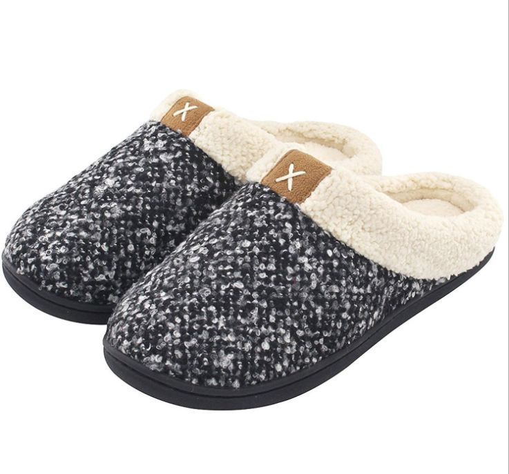 Women's Cozy Memory Foam <strong>Slippers</strong> Fuzzy Wool-Like Plush Fleece Lined House Shoes