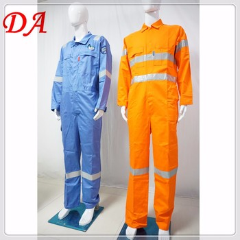 Cotton Fr Safety Fireproof Coveralls - Buy
