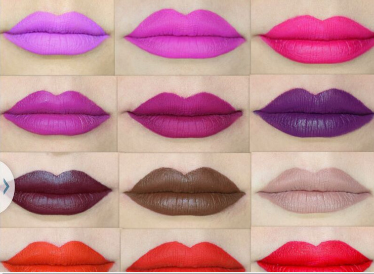 Best choose of lipstick distributors Dark Color Liquid lipstick