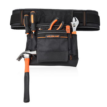Small Durable Maintenance And Electrician's Tool Pouch With Removable Belt