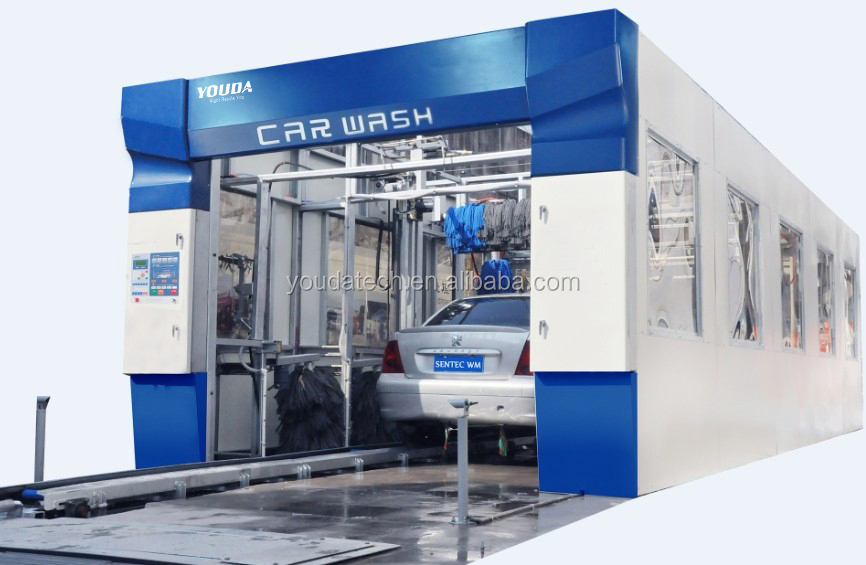 Frame tunnel car washing machine automatic tunnel car wash machine