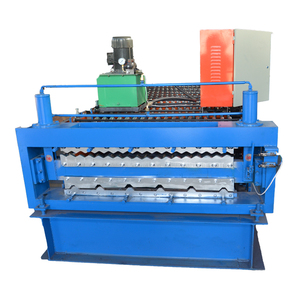 Superior Quality double layer roll forming machin/ibr roof sheet machine