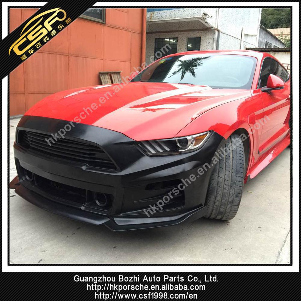 Mustang 2015-2017 Roush Front Bumper Pp Material - Buy Mustang Front Bumper  Pp Material,Mustang 2015-2017 Roush Front Bumper,Pp Material Roush Bumper