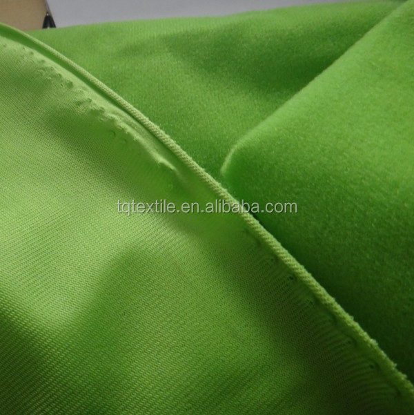 brushed tricot fabric for automobile interior decoration