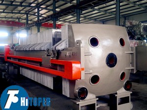 High quality hydraulic explosion proof filter press equipment used in mining, coal, slurry, kaolin and metal.