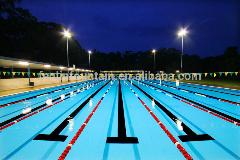 competition equipment swimming pool floating lineswimming pool lane rope swimming line - Olympic Swimming Pool Lanes
