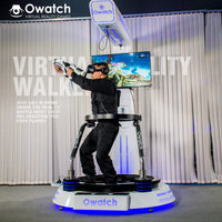 Newest and popular virtual reality 9D VR walker VR treadmill