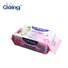 Household baby wipes 80s packing wet tissue natural multi-purpose face hygiene tissue soft popular