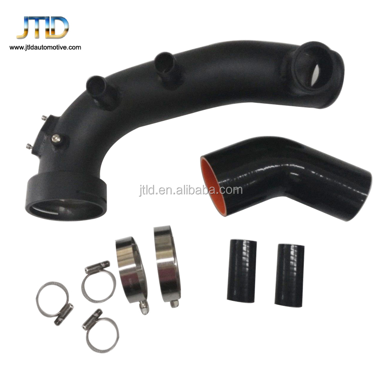 Details about For  TURBO AIR INTAKE CHARGE HARD PIPE KIT FOR BM W N54 E90 E92 135i 335i