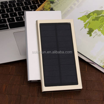 20000mah waterproof solar power bank for mobile phone