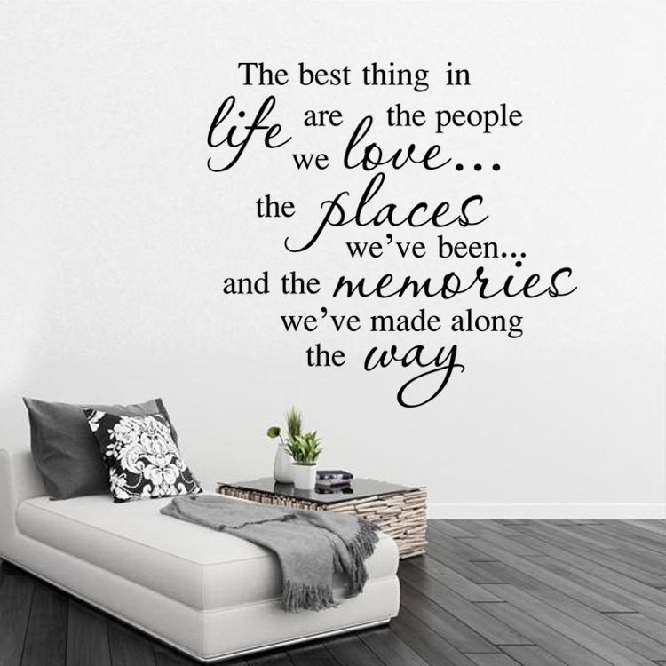 a17fcce011dd Inspirational quotes home decorative personality creative high quality hot wall  stickers removable waterproof PVC Art ~ Inspiration Home Decor ~ Olivia ...