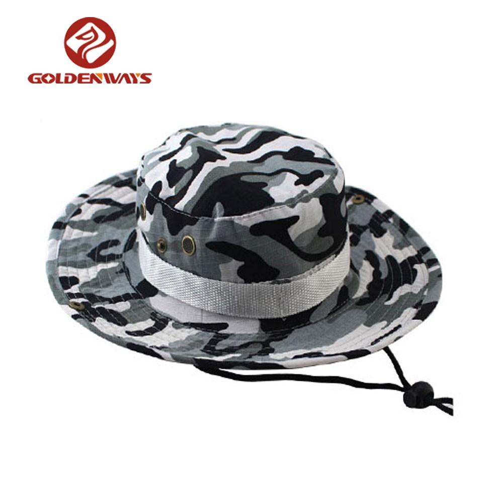 cbd7ed69bab New Summer Custom Funky Safari Fishing Hiking Camo Bucket Hats - Buy Bucket  Hat