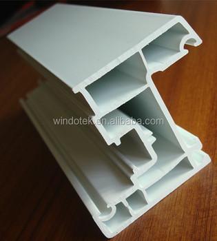 Pvc Door Panel Profile 60 Series Upvc Window Profiles China Factory