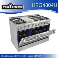 Hyxion freestanding 48'' Kitchen Appliance 6 Burner Gas Ranges