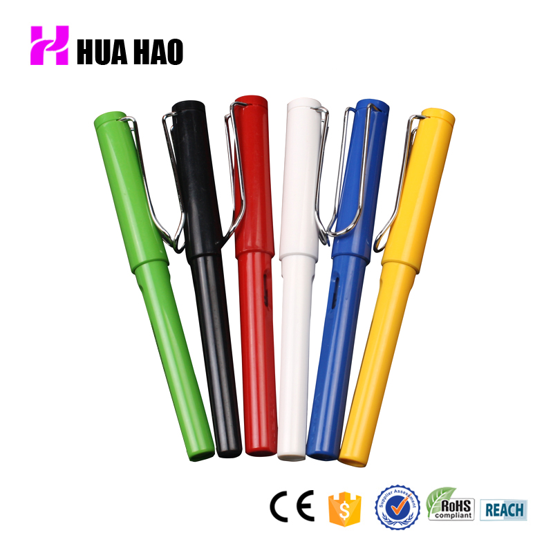 Huahao brand factory supply chinese metal calligraphy pen custom luxury promotional gift fountain pen