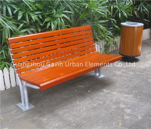 Fantastic 8 Feet Long Outdoor Steel Wood Plastic Composite Slats Customarchery Wood Chair Design Ideas Customarcherynet