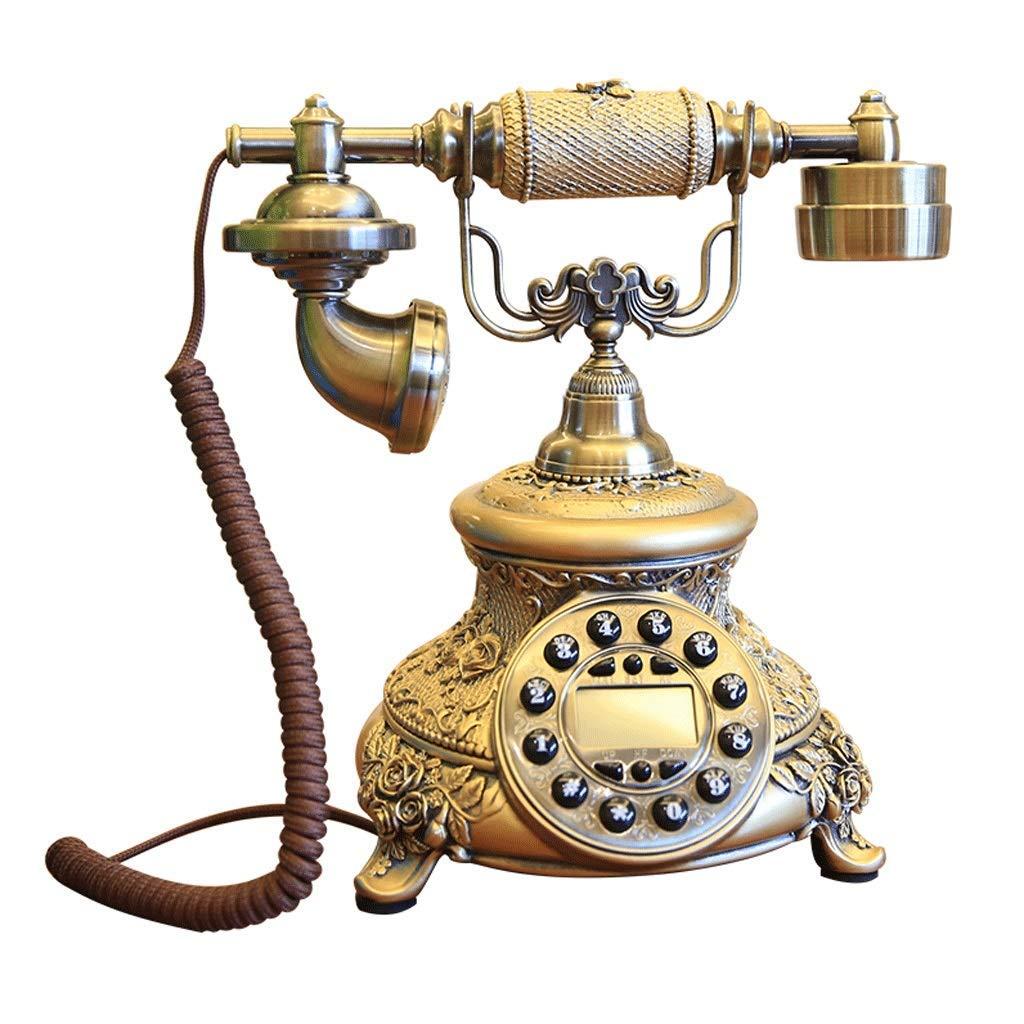 HY Telephone Antique American Style high-end Creative Metal Retro European Style Phone landline