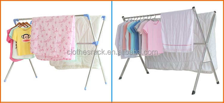 Hot Sale New Elegant Design Metal Clothes Rack, Portable Clothes Drying Rack,Extention  Clothes
