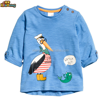 Custom high quality cheap clothing latest design boys kids t-shirts