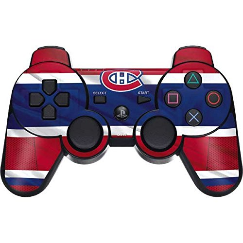 NHL Montreal Canadiens PS3 Dual Shock wireless controller Skin - Montreal Canadiens Home Jersey Vinyl Decal Skin For Your PS3 Dual Shock wireless controller