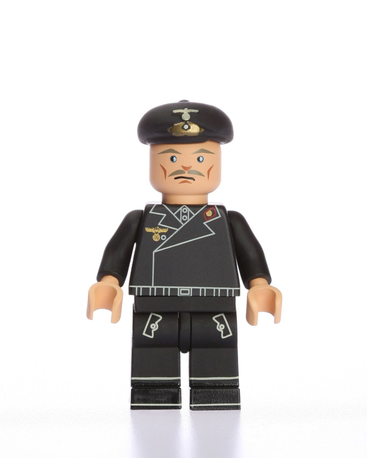 Army Minifigure WWII German Panzer Tank Commander Custom Building Military Minifigure Soldier