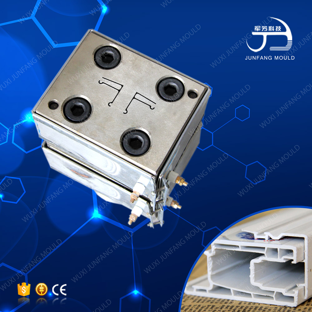 PVC profile extrusion tool with CE
